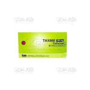 TAXIME 100MG CAP 30S