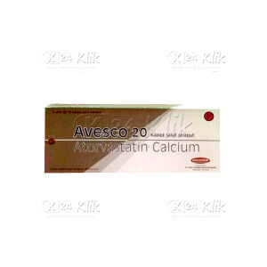 AVESCO 20MG CAP 30S