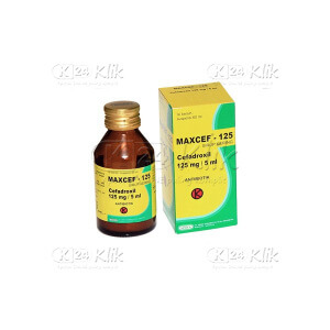 MAXCEF 125MG/5ML D SYR 60ML