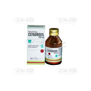 CEFADROXIL FORTE D.SYR 60ML 250MG/5ML