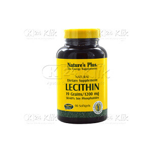 NATURE PLUS LECITHIN 1200MG TAB SOFTGEL 60'S