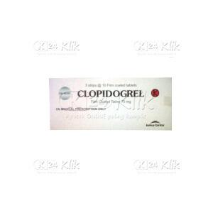 CLOPIDOGREL KF 75MG TAB 30S