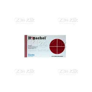 HEPACHOL CAP 50S