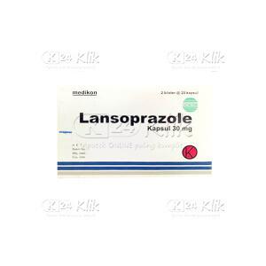 LANSOPRAZOLE MEDIKON 30MG CAP 40S