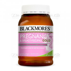 BLACKMORES PREGNANCY BREAST FEED GOLD SOFTCAP 60S