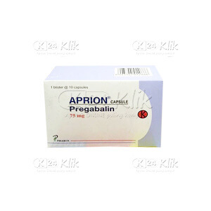 APRION 75MG CAP 10S