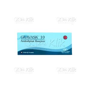 GRAVASK 10MG TAB 30S