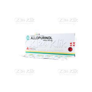 ALLOPURINOL DEXA 100MG TAB 100S