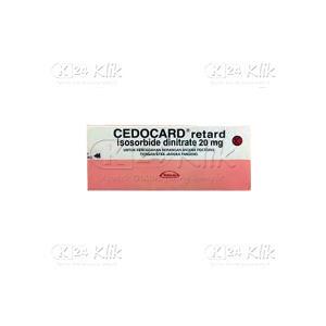 CEDOCARD RETARD 20MG TAB 60S