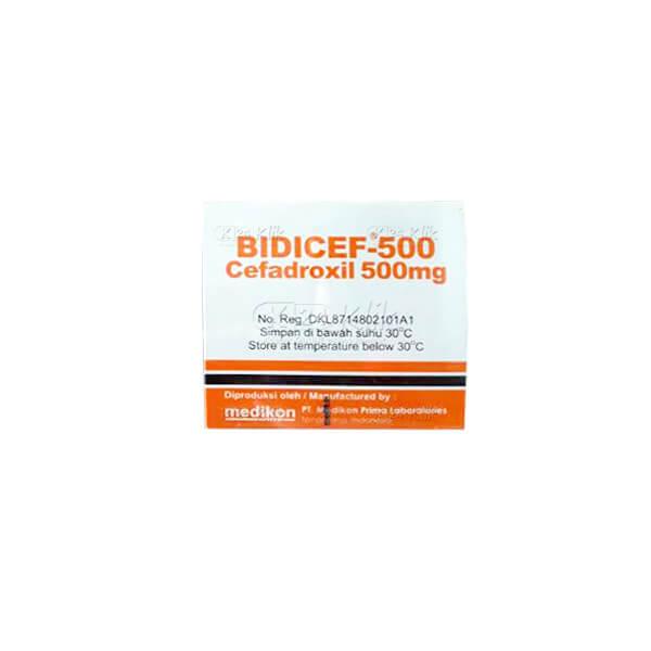 BIDICEF 500MG TAB 60S