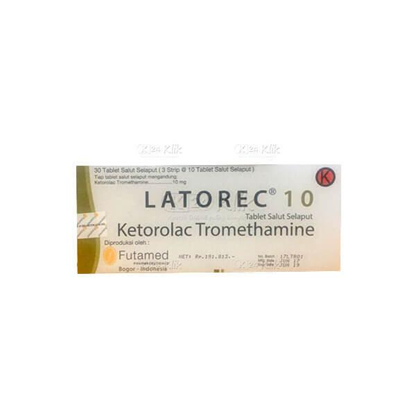 LATOREC 10MG TAB