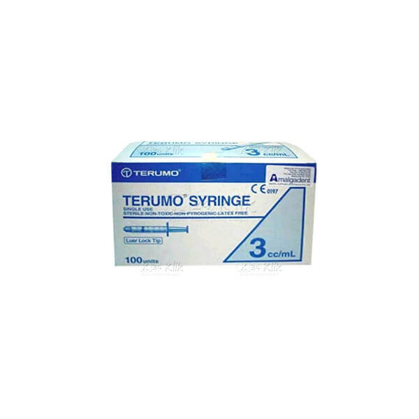 TERUMO DISP SPUIT 3ML