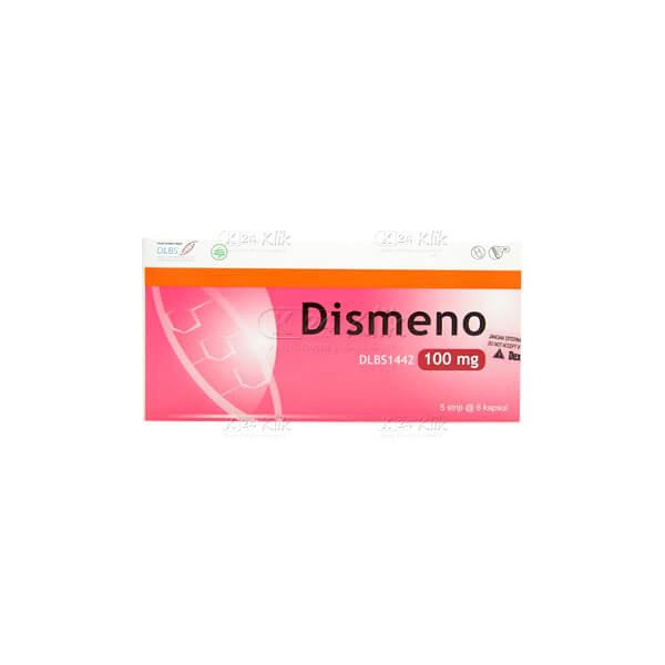DISMENO 100MG CAP 30S