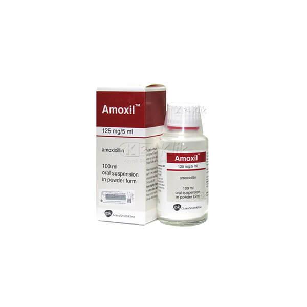 AMOXIL D SYR 60ML