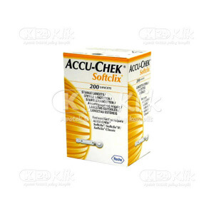 ACCU CHECK SOFTCLIX LANCETS 200S