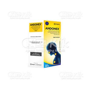 ANDONEX SYR 60ML