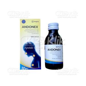 ANDONEX SYR 100ML