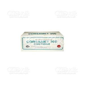 CORSAMET 200MG TAB 100S