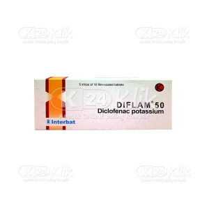 DIFLAM 50MG TAB 50S
