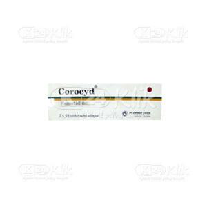 COROCYD 40MG TAB 50S