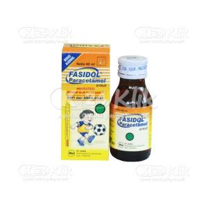 FASIDOL 125MG/5ML SYR 60ML