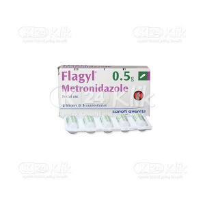 FLAGYL SUPP 0,5G