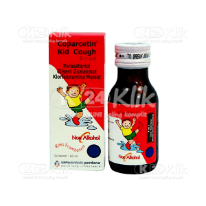 COPARCETIN KID COUGH SYR 60ML