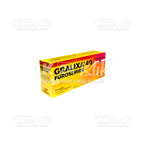 GRALIXA 40MG TAB 100S