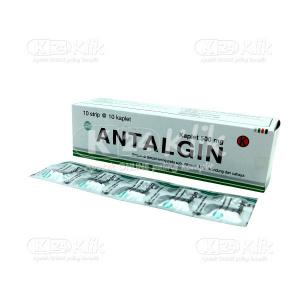 ANTALGIN PHYTO 500MG TAB