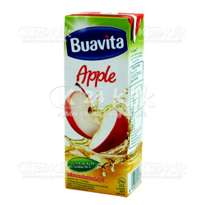BUAVITA APPLE JUICE 250ML POUCH
