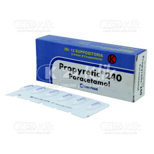 PROPYRETIC SUPP 240MG