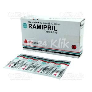 RAMIPRIL 2,5MG DEXA