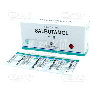 SALBUTAMOL FM 4 MG TAB