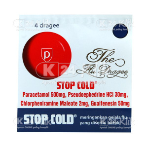 STOP COLD TAB STR 4'S