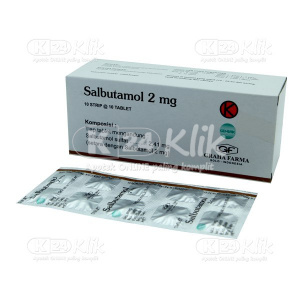 SALBUTAMOL 2MG GRAHA FARMA