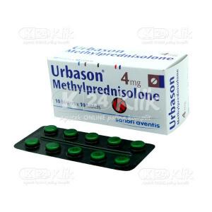 URBASON 4MG TAB 100S