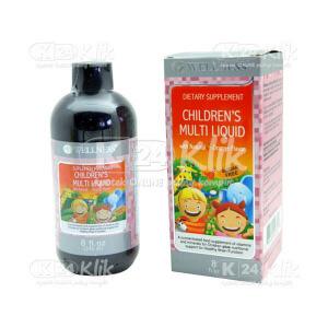 WELLNESS CHILDREN MULTI LIQUID 240ML