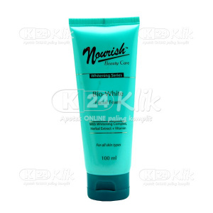 NOURISH BEAUTY WHITE FACIAL FOAM 100ML