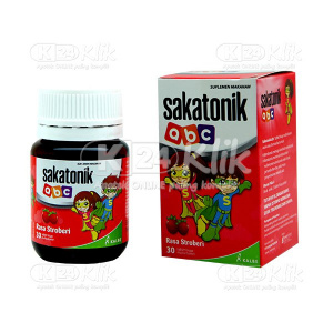 SAKATONIK ABC STRAW BOTOL