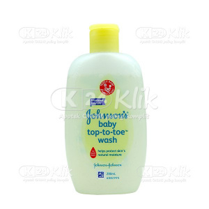 JOHNSON BABY TOP TO TOE WASH 200ML