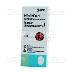HIALID 0,1% 5ML EYE DROP