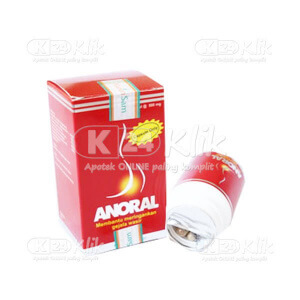 ANORAL 500MG CAP 30S/PCS