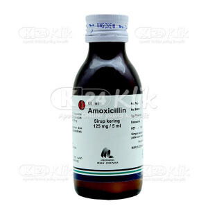 AMOXICILLIN IF 125ML/5ML DRY SYR 60ML