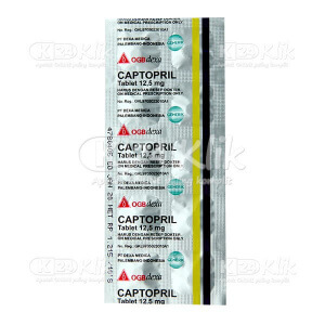CAPTOPRIL DEXA 12.5MG TAB 100S