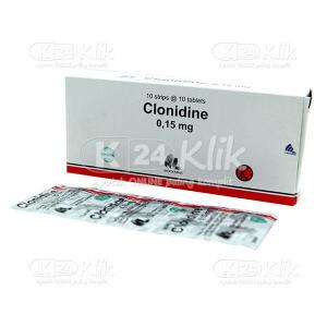 CLONIDINE IF 0,15MG TAB