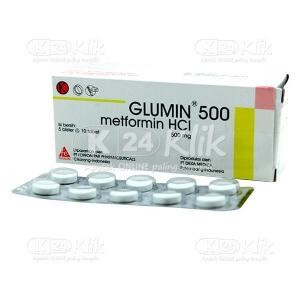 GLUMIN 500MG TAB