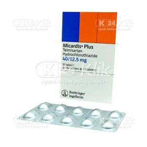 MICARDIS PLUS 40/12,5MG TAB