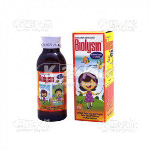 BIOLYSIN SYR 100 ML