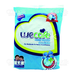 WE CARE PAMPERS DEWASA L 2S