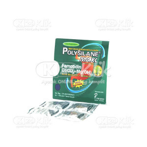 POLYSILANE MAX PAPPERMINT TAB 40S